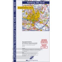 ICAO-Karte, Blatt Hamburg...